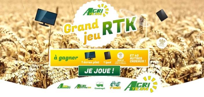 Grand jeu RTK du groupe agriteam