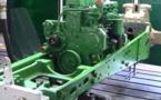 Vidéo test châssis tracteur  John Deere